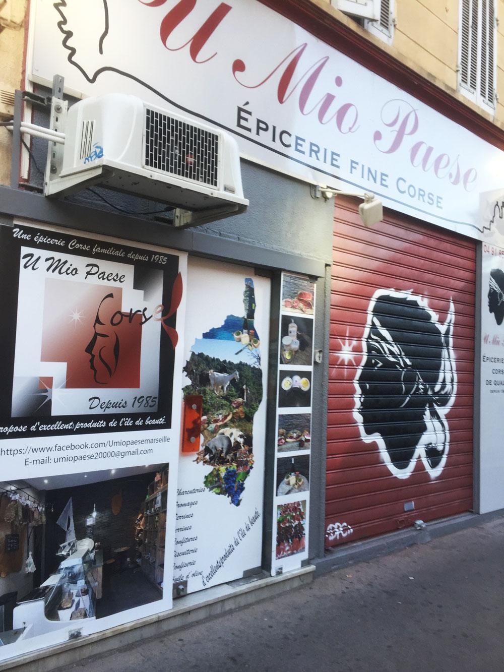 Épicerie Corse à Marseille