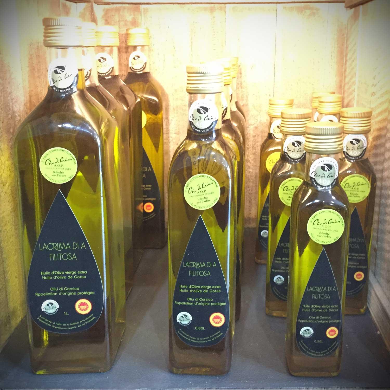 Huile d'olive Corse à Marseille